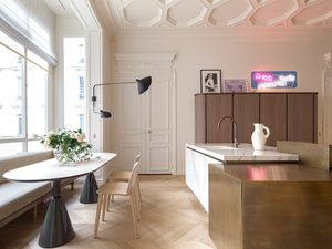 Inside a Classic Parisian Apartment With a Lively Spirit