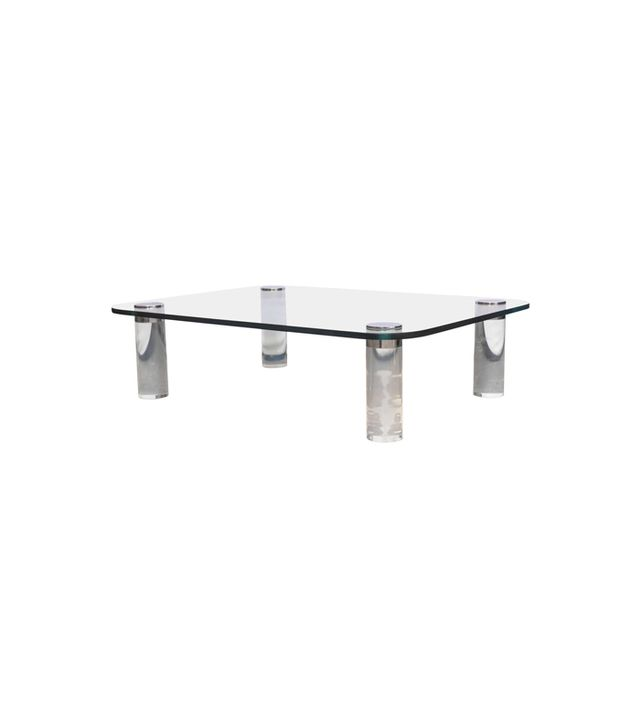 Deja Vu Decor Pace Lucite Coffee Table