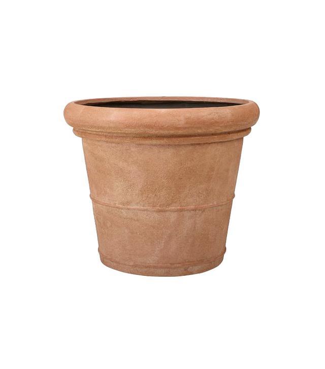 Pottery Barn Umbria Etched Concrete Planter