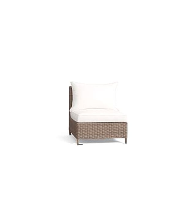 Pottery Barn Torrey All-Weather Wicker Sectional