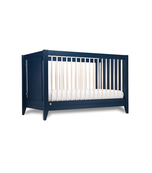 The Honest Co. x Babyletto Navy 4-in-1 Convertible Crib With Toddler Rail