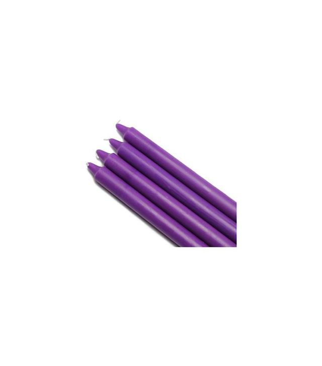 Zest Candles Purple Taper Candles