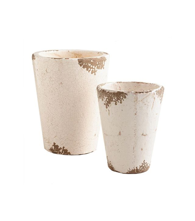 World Market Ivory Planters