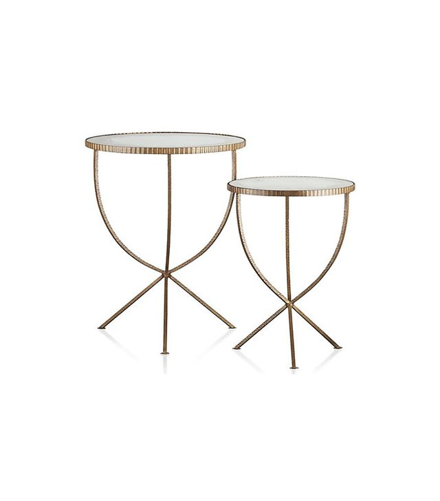 Crate and Barrel Jules Accent Tables