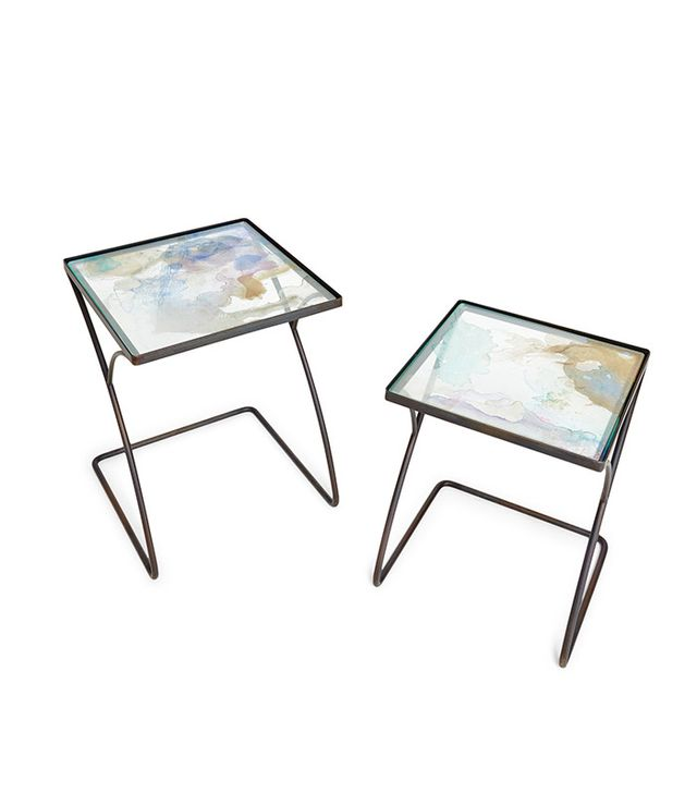 ABC Co-Create Glass Nesting Tables