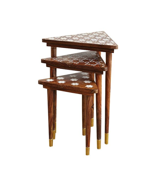 Anthropologie Mother-of-Pearl Nesting Tables