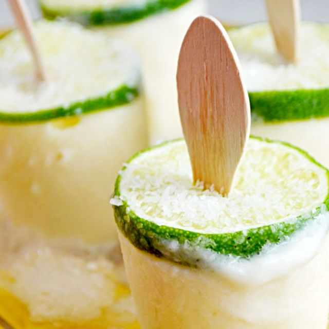 Margarita Popsicles Perfect for the Weekend
