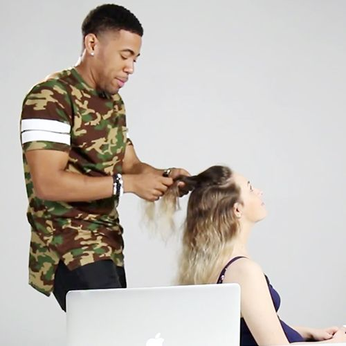 Watch These Guys Braid Their Girlfriends' Hair