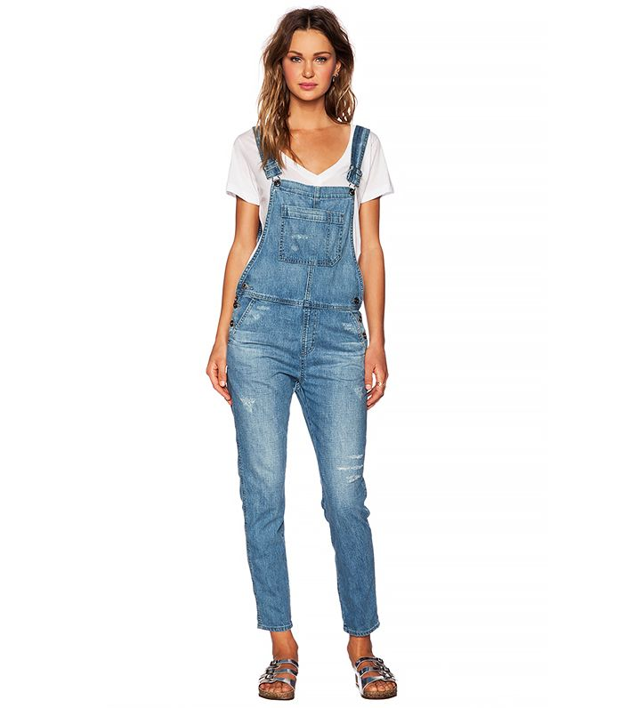 how to make overalls from jeans
