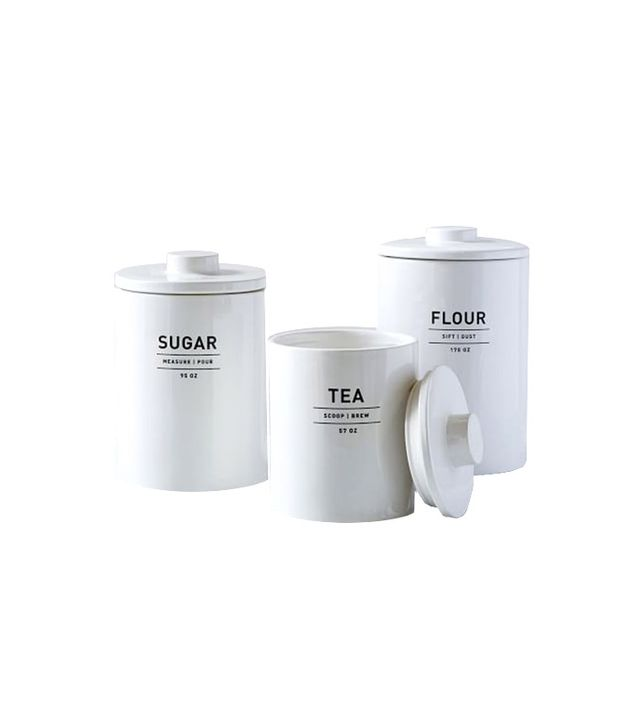 West Elm Utility Kitchen Canisters