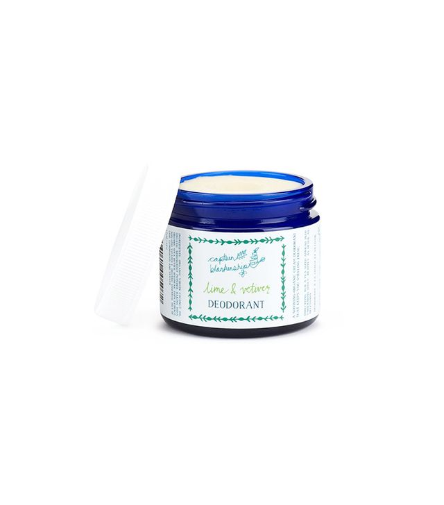 Captain Blankenship Lime and Vetiver Cream Deodorant