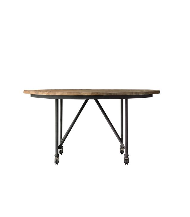 Restoration Hardware Flatiron Round Dining Table