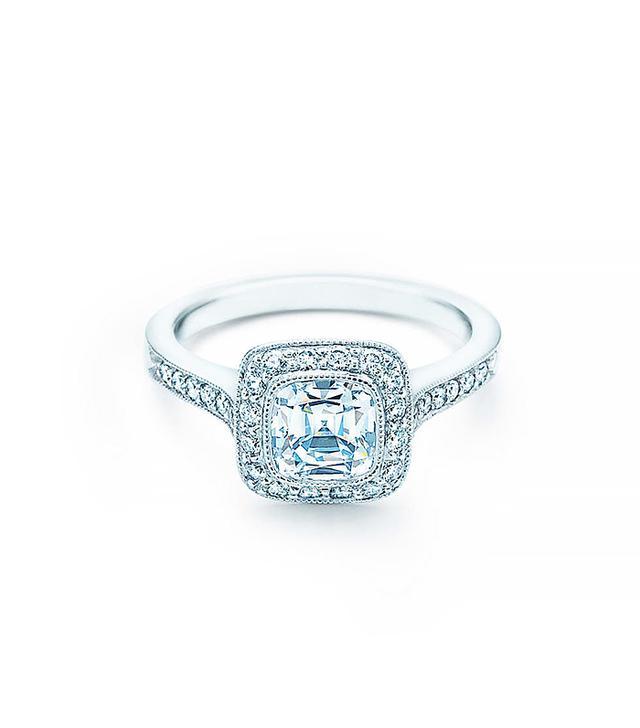 Tiffany & Co. Cushion-Cut Legacy Engagement Ring