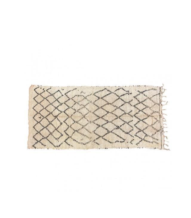 Mosaik Vintage Moroccan Beni Ouarain Rug