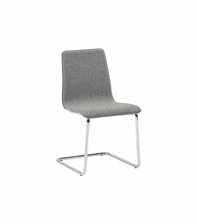CB2 Pony Tweed Chair