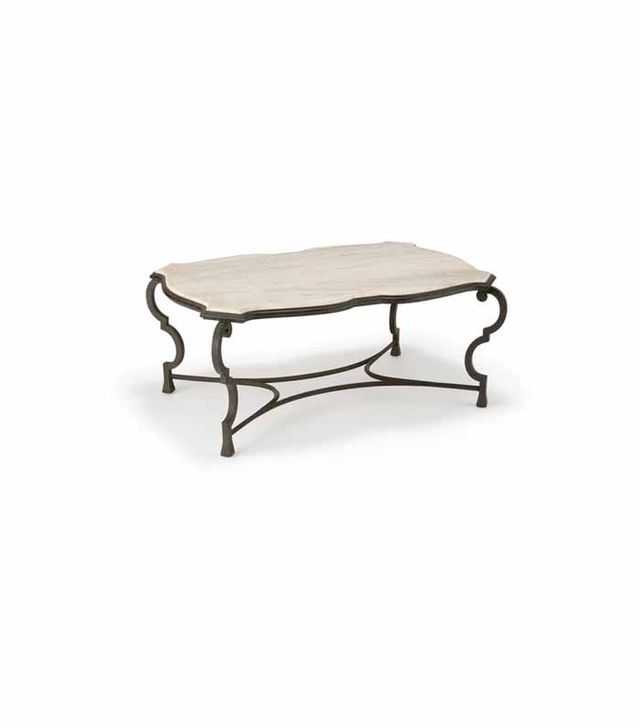 Gregorious Pineo Iron Coffee Table