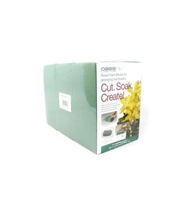 Oasis Floral Products Pack of Six Standard Floral Foam Bricks