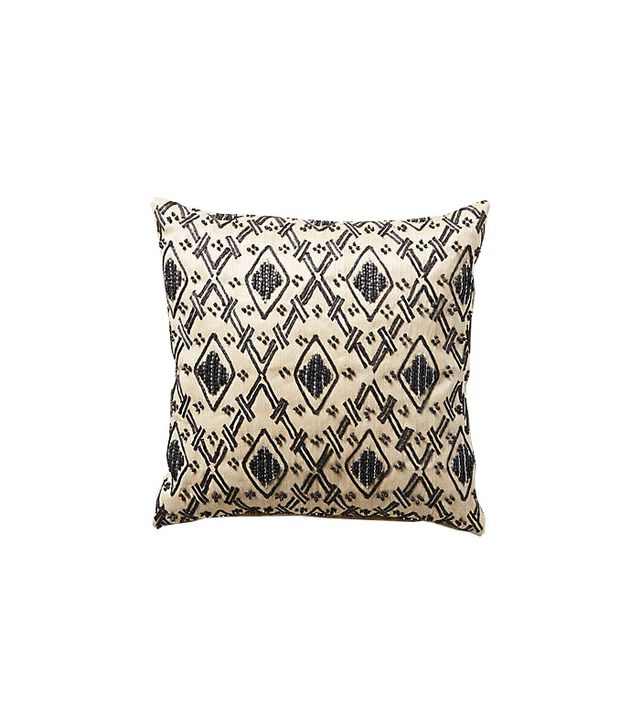 John Robshaw Etched Diamond Pillow