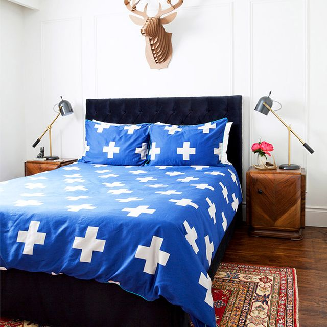 A Colourful and Eclectic Boy's-Bedroom Makeover