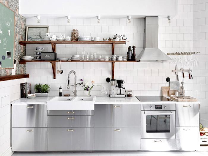 the most stylish ikea kitchens weve seen mydomaine - Ikea Kitchen
