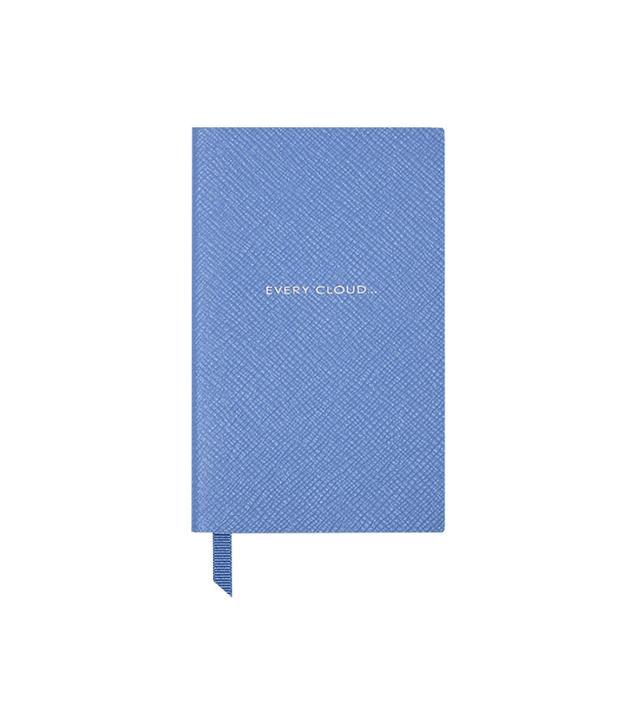 "Smythson ""Every Cloud"" Panama Notebook"