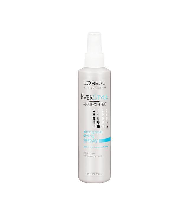 Spraying Perfume or Hair Spray