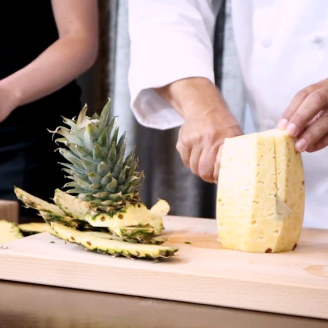 How NOT to Cut a Pineapple