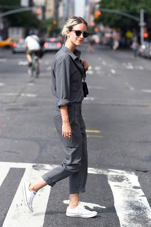 How To Wear A Utility Jumpsuit Who What Wear