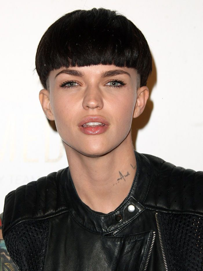 5 Photos Of Ruby Rose That Have Us Rethinking The Bowl Cut Byrdie