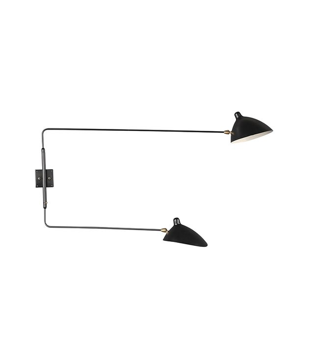 France & Son Two-Arm Rotating Wall Sconce