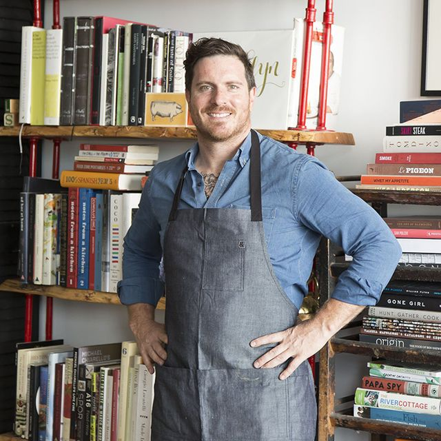 Here's What Hot Chef Seamus Mullen Keeps in His Apron