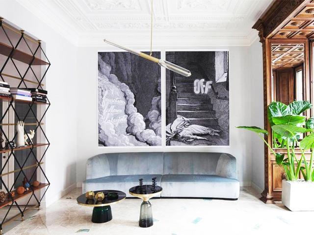Step Inside a Stunning Art Nouveau Home in Milan