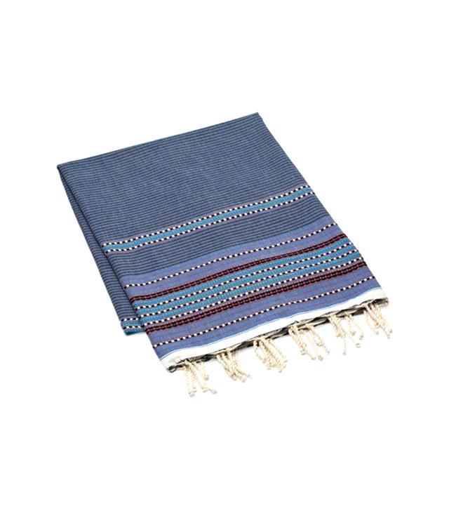 One Kings Lane Fouta Multi Striped Towel
