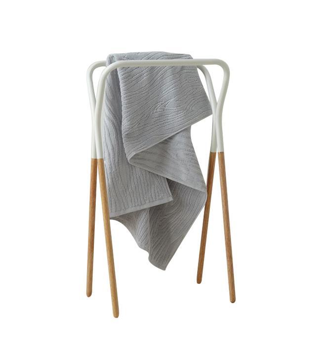 West Elm Modern Two-Tone Towel Rack