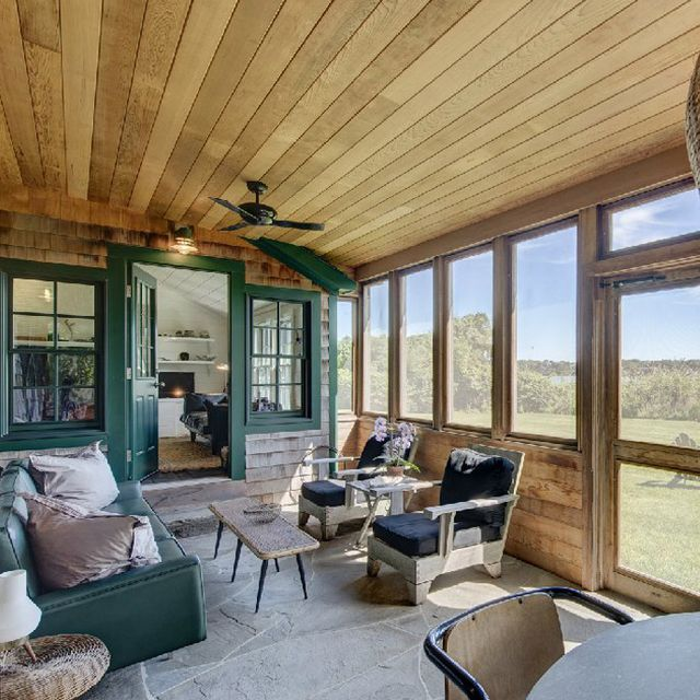 Tour Julianne Moore's $3.5 Million Montauk Cabin