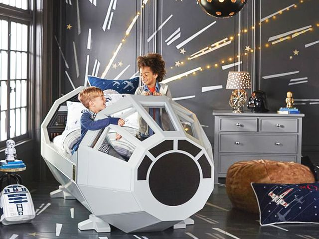 The New Pottery Barn Star Wars Bed Just Made Sleep Time Cool