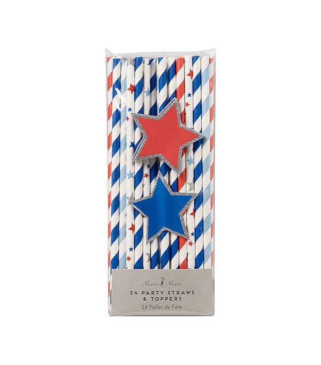 Paper Source Fourth of July Straws