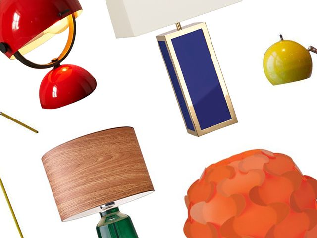 5 Bright Lamps to Add a Pop of Colour