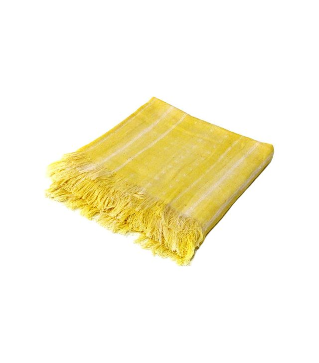Tensira Throw with Fringes
