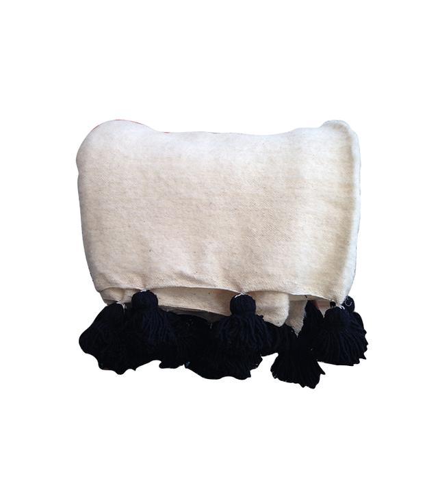Paddo to Palmy Hand Loomed Woollen Pom Pom Blankets