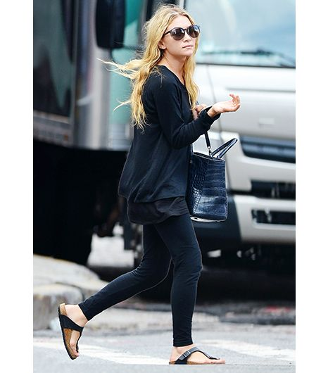 aaa96c7407ab Birkenstocks Are Back--See How Ashley Olsen s Wearing Them