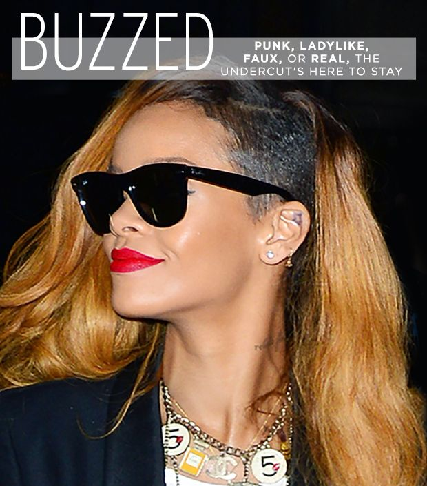Get Buzzed: The Shaved-Side Hairstyle Hollywood Loves