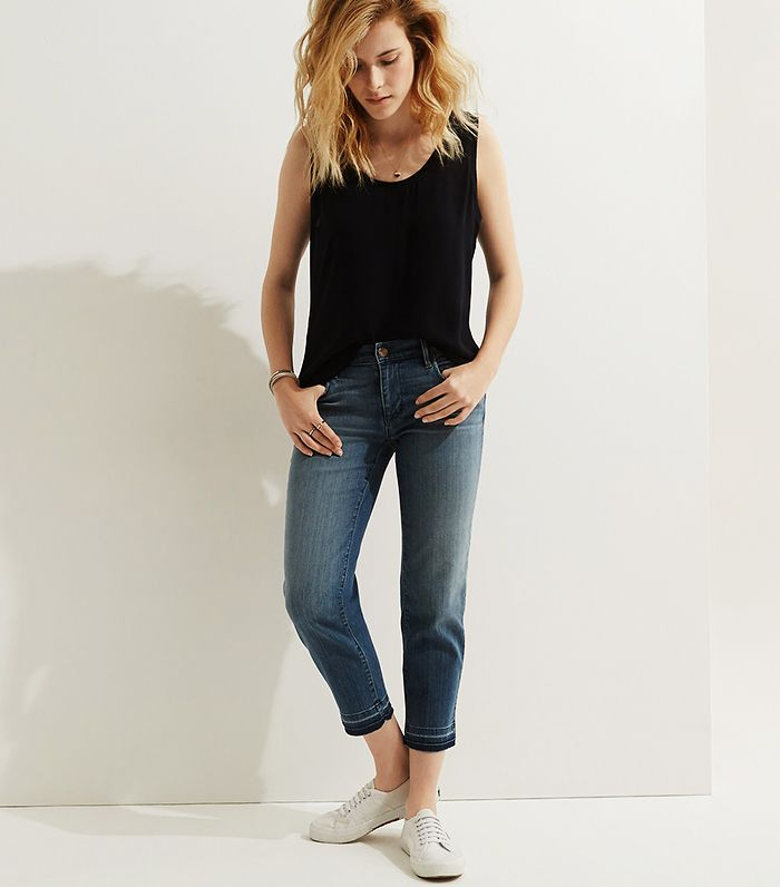 Womens High Waisted Skinny Jeans In Black $85   DSTLD