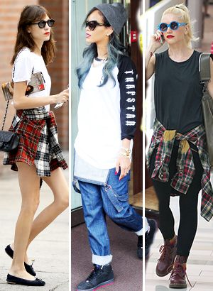 c59b8d23a642 How To Wear Fall s Grunge Look Right Now