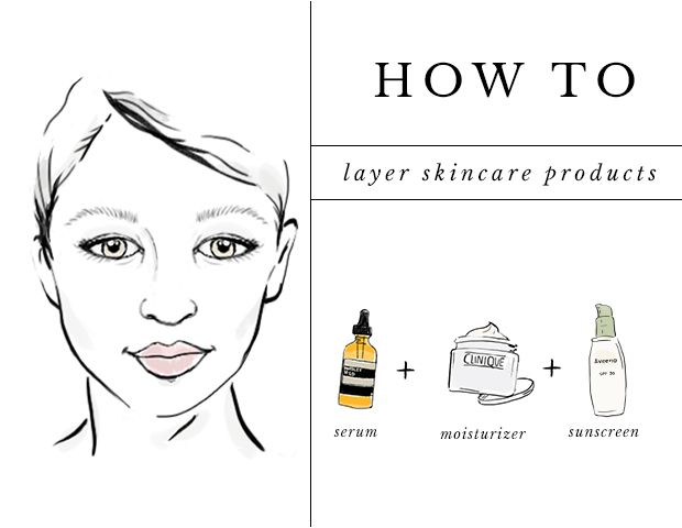 A Guide to Layering Your Serums, Moisturizers, and More