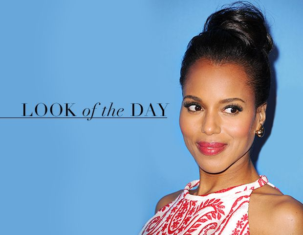 The Secret to Kerry Washington's Natural Looking Lashes