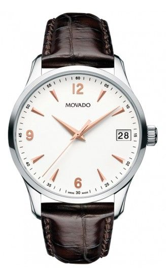 Movado  Circa Men's Stainless Steel Watch