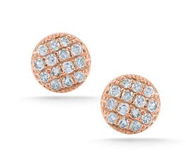 Dana Rebecca Designs  Mini Pave Diamond Studs