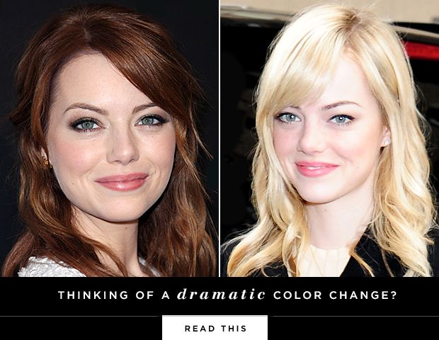 Just How Much Work Is A Dramatic Change in Hair Colour?