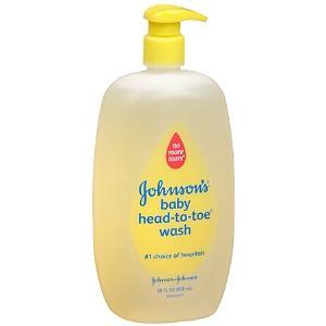 Johnson & Johnson Head-to-Toe Baby Wash